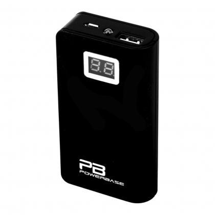 PowerBank BC130 13 000 mAh (Černá) + Datový kabel Micro USB, Lightning