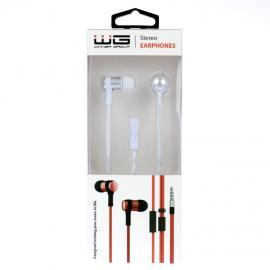 WG HF stereo słuchawki 3,5 jack (Białe)