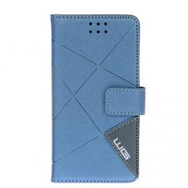 Pouzdro Cross Flipbook Lenovo P90 (Modrá)