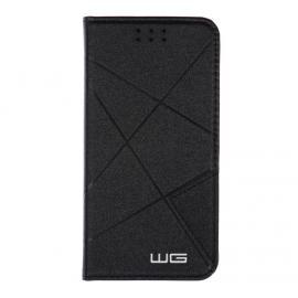 Pouzdro Cross Flipbook Huawei P9 Lite (Černá)