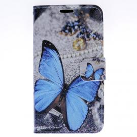 "Pouzdro Pure Flipbook Samsung Galaxy A3 (2016) ""Butterfly"""