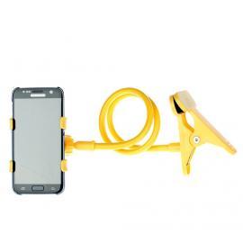 Uchwyt uniwersalny Home dla smartfonów /yellow