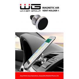 WG Uchwyt samochodowy magnetyczny Kółko silver