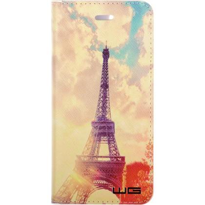 Pouzdro Flipbook Honor 7x (Eiffel Sunshine)
