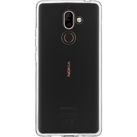 Pouzdro Azzaro T TPU 1,2mm slim case Nokia 7 Plus/transparent