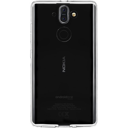 Pouzdro Azzaro T TPU 1,2mm slim case Nokia 8 Sirocco (2018)/transparent