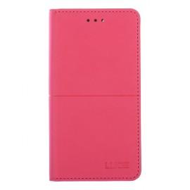Pouzdro Flipbook Line Huawei P9 Lite Mini (2017) (Růžové)