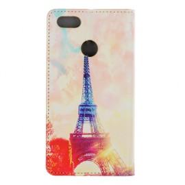 "Pouzdro Flipbook Huawei P9 Lite Mini (2017) ""Eiffel Sunshine"""