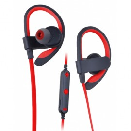 Bezdrátová bluetooth sluchátka (Červené)