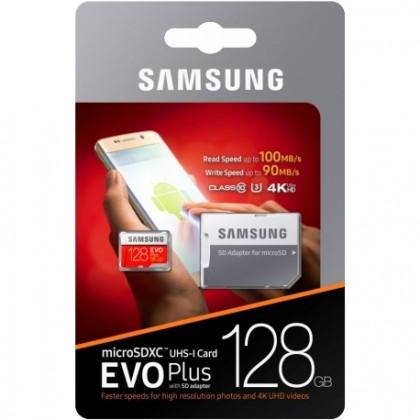 Pametova Karta Samsung Micro Sdhc Karta 128gb Evo Plus Sd Adapter