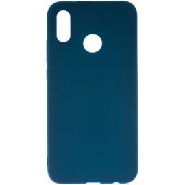 Pouzdro TPU Matt Huawei P20 lite (Modré)