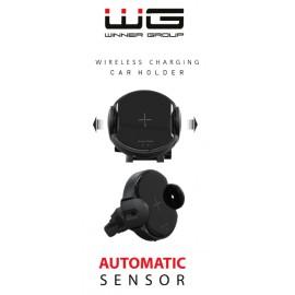 Autonabíječka (Fast Wireless Charger with Infrared sensor) 10W (Černá)