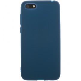 Pouzdro TPU Matt Huawei Y5 (2018)/Honor 7s (Modré)
