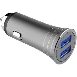 Autonabíječka 2xUSB (3.1A) + cable Type C