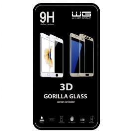 Tvrzené sklo 3D Edge Glue LG K11 (2018) (Černé)