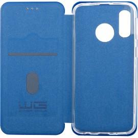 Pouzdro Evolution Karbon Samsung Galaxy A40 (Modré)