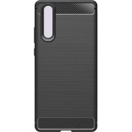Pouzdro Carbon Huawei P30 (Černé)