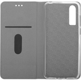 Pouzdro Flipbook Line Huawei P30 Lite (Černé)