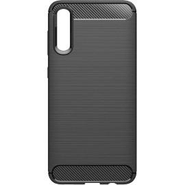 Pouzdro Carbon Samsung A70 (Černé)