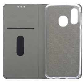Pouzdro Flipbook Line Samsung A40 (Černé)