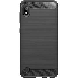 Pouzdro Carbon Samsung A10 (Černé)
