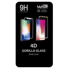 Tvrzené sklo 4D Edge Glue Samsung A70 (Černé)