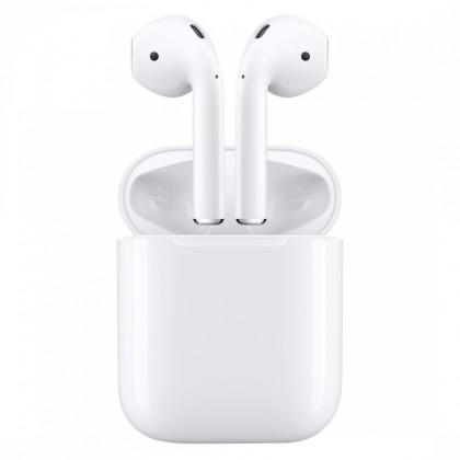 Sluchátka Apple AirPods (2019) s bezdrátovým nabíjením