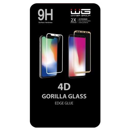 Tvrzené sklo 4D Edge Glue ZTE Blade A5 (2019) (Černé)