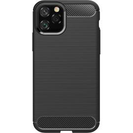 Pouzdro Carbon iPhone 11 MAX (Černé)