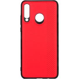 Pouzdro Dots line Huawei P30 lite (Červené)