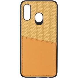 Pouzdro CarbonPocket Samsung A40 (Zlaté)