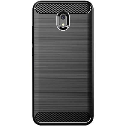 Pouzdro Carbon Xiaomi RedMi 8A (Černé)