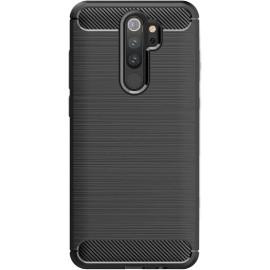 Pouzdro Carbon Xiaomi RedMi Note 8 Pro (Černé)