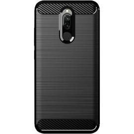 Pouzdro Carbon Xiaomi RedMi 8 (Černé)
