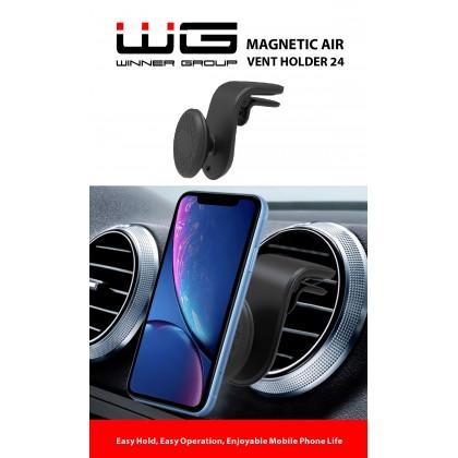 Držák univerzální magnetický do auta WG 24 (Černý)