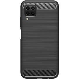 Pouzdro Carbon Huawei P40 lite (Černé)