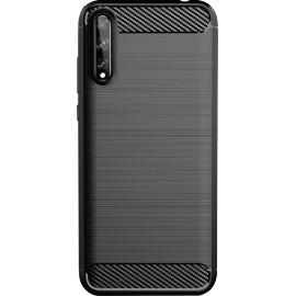 Pouzdro Carbon Huawei P smart 2020 (Černé)