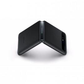Pouzdro Leather Cover Samsung Galaxy Z flip (Černé)