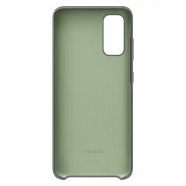 Pouzdro Silicone Cover Samsung Galaxy S20 (Šedé)