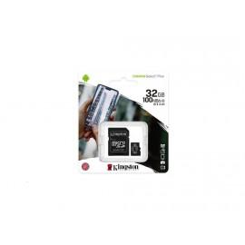 Paměťová karta 32GB microSDHC Kingston Canvas Select A1 CL10 100MB/s +