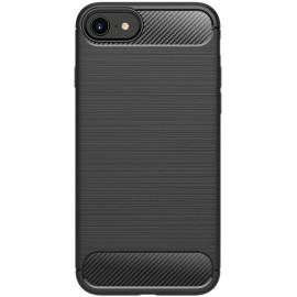 Pouzdro Carbon iPhone 7/8/SE(2020) (Černé)