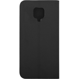 Pouzdro Flipbook Duet Xiaomi Redmi Note 9 Pro (Černé)