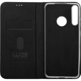 Pouzdro Flipbook Duet Huawei P40 Lite E (Černé)