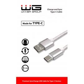 Datový kabel Type C (Bílý)
