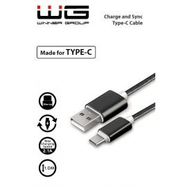 Datový kabel Type C (Černý)