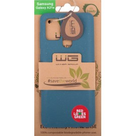 Pouzdro ECO 100% compostable Samsung Galaxy A21 (Blue-Greens)