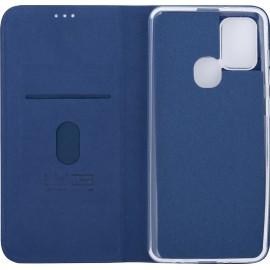 Pouzdro Flipbook Duet Samsung Galaxy A21s (Tmavě modré)