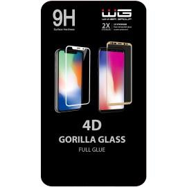 Tvrzené sklo 4D Full Glue Huawei Y6P (Černé)