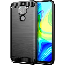 Case Carbon Xiaomi Redmi Note 9 (Black)