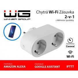 Double slot socket smart Zásuvka